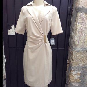 Repost! Ellen Tracy Wrap Career Dress